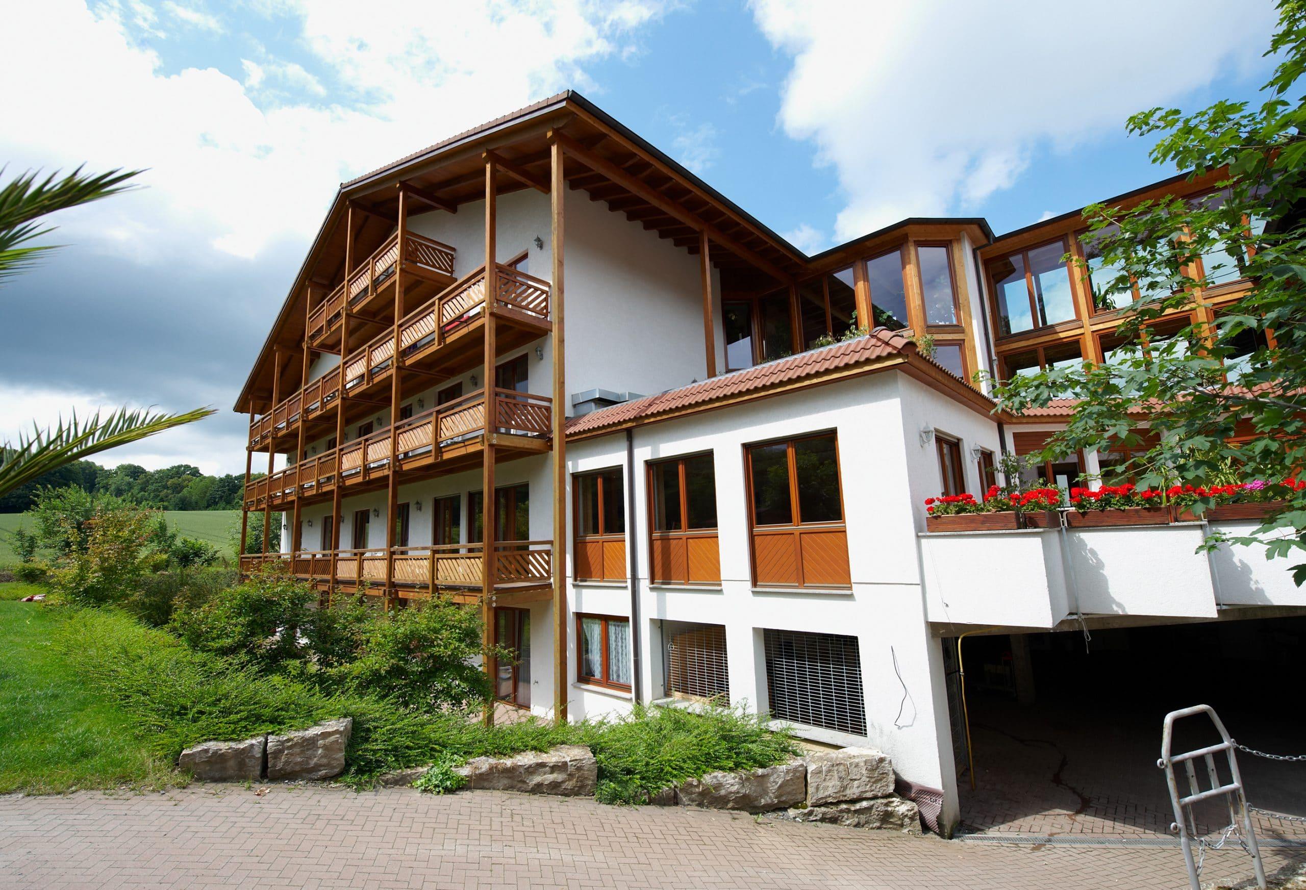 Aussenansicht Hotel Villa Waldeck