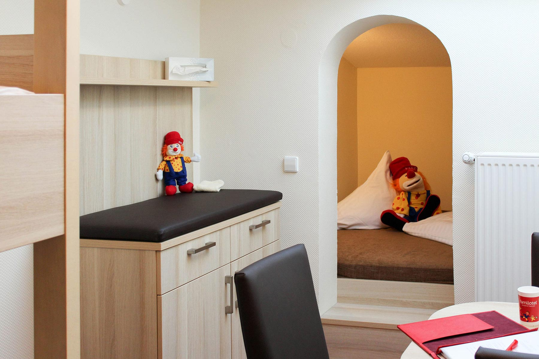 Familienzimmer & Appartements