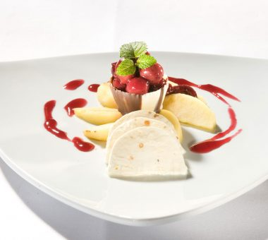Eiscreme - Restaurant Villa Waldeck
