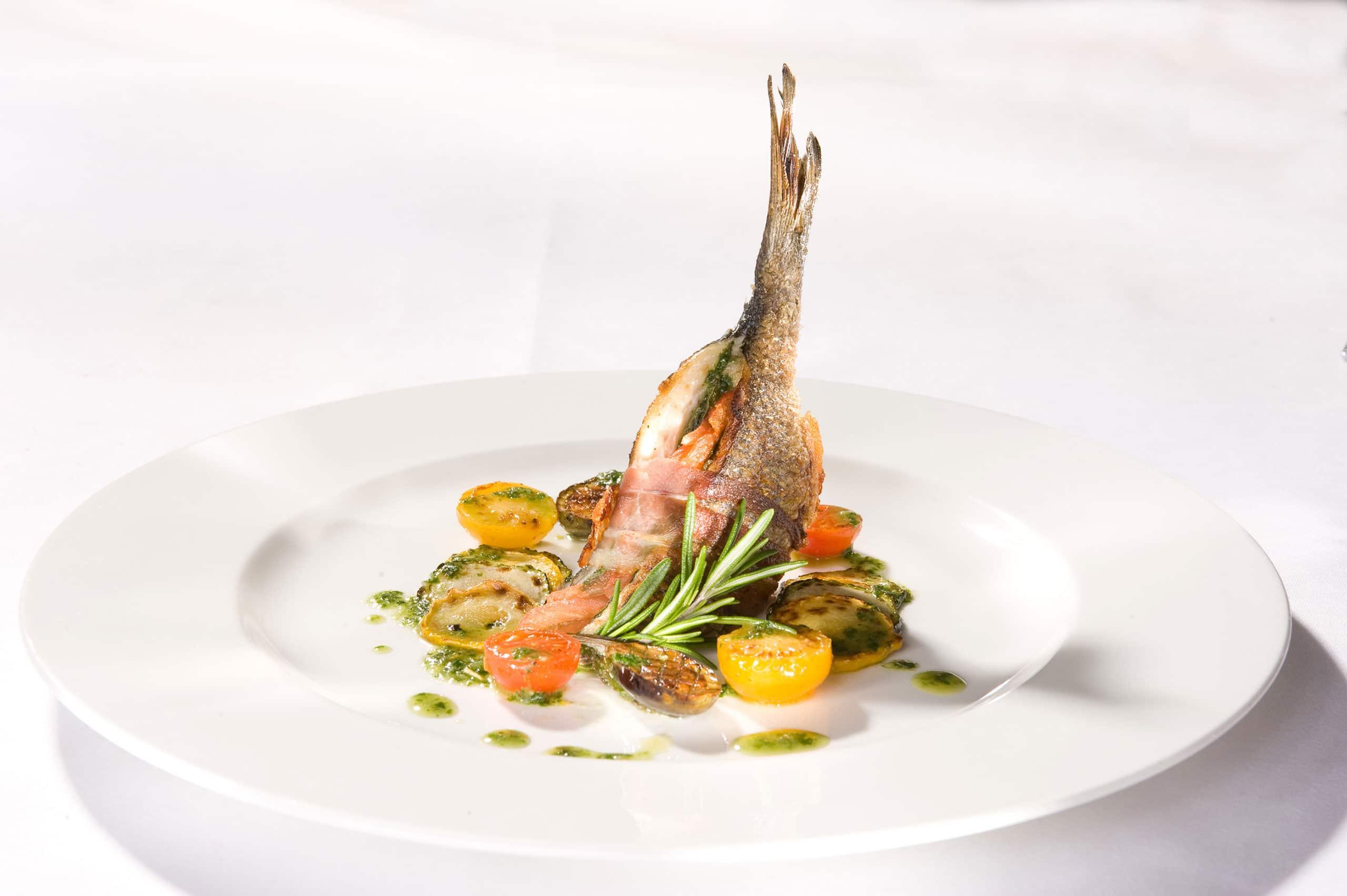 Fisch - Restaurant Villa Waldeck