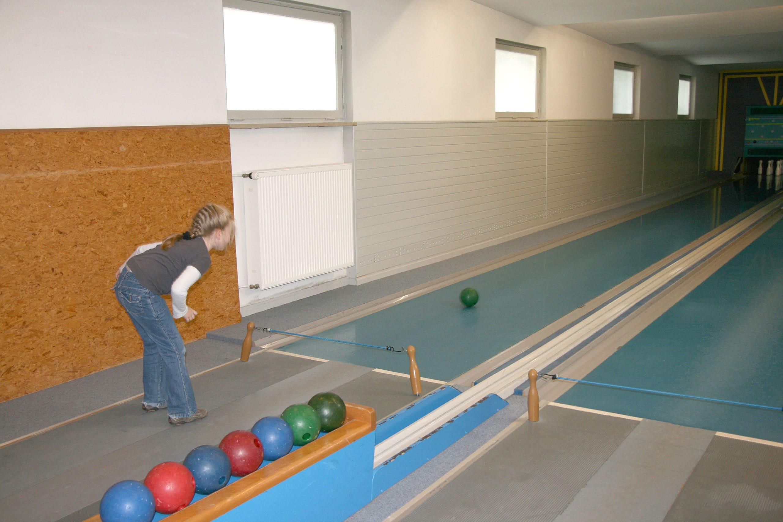 Kegelbahn Bowlingbahn