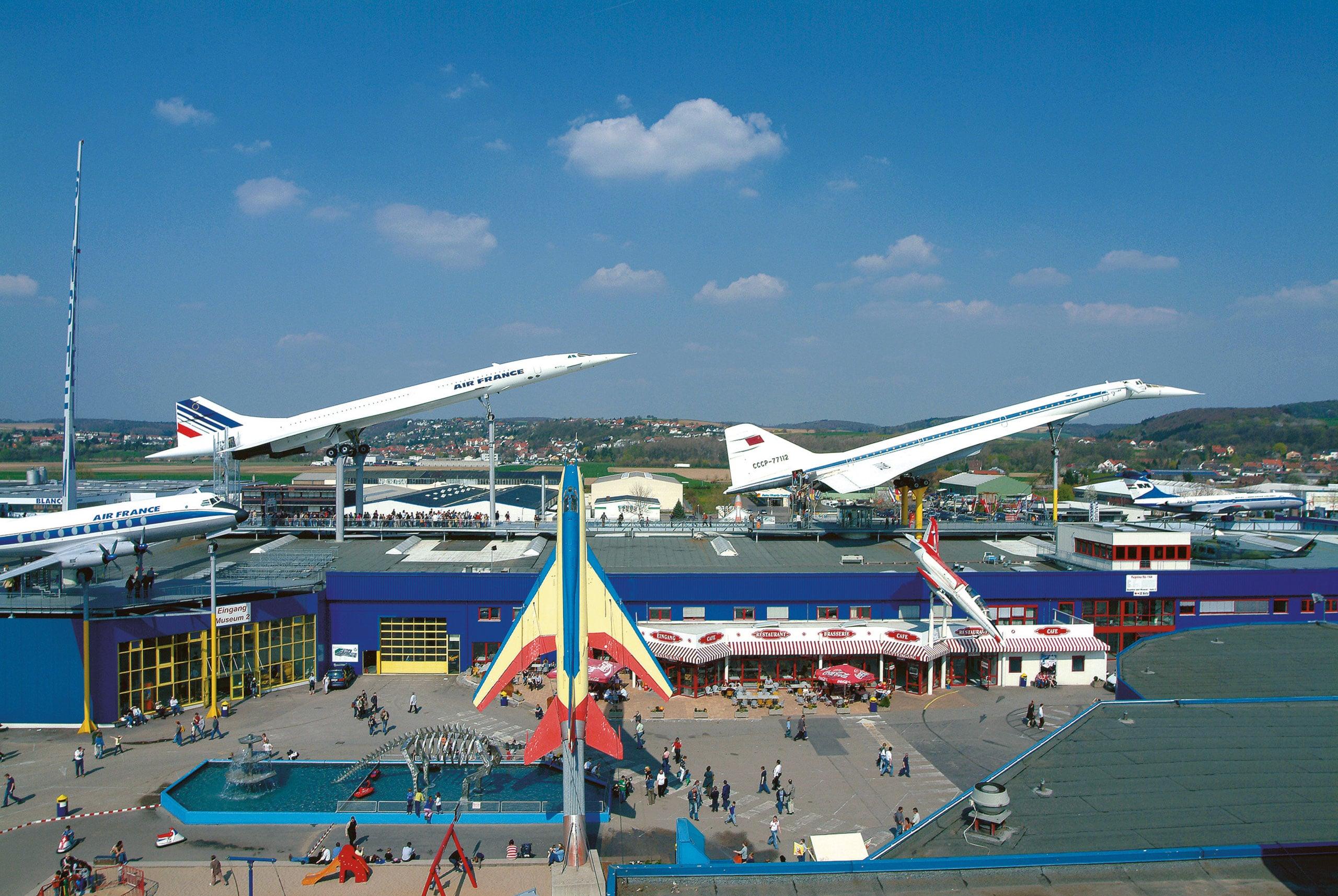 Ausflugsziele Sinzheim Museum Concorde-Tu-144