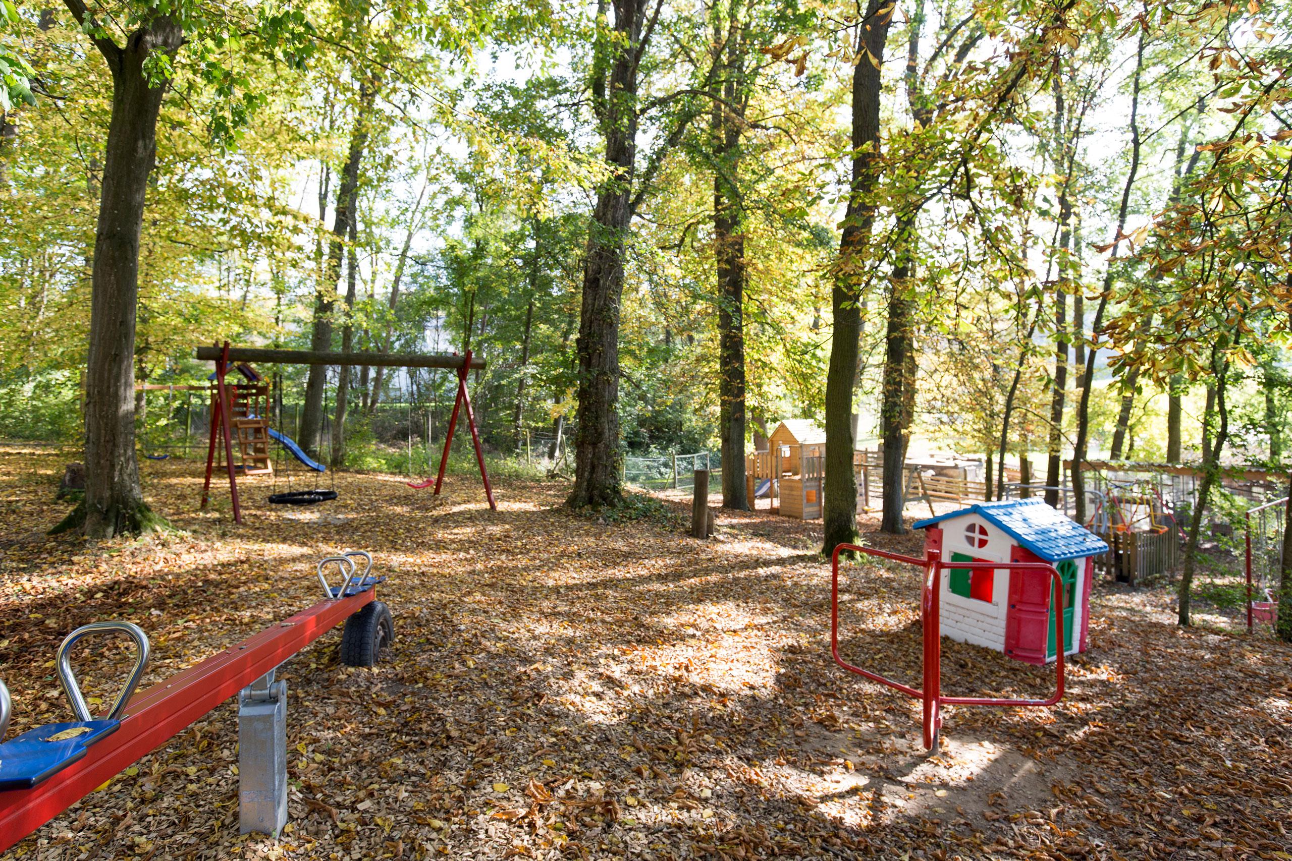 Wald Spielplatz