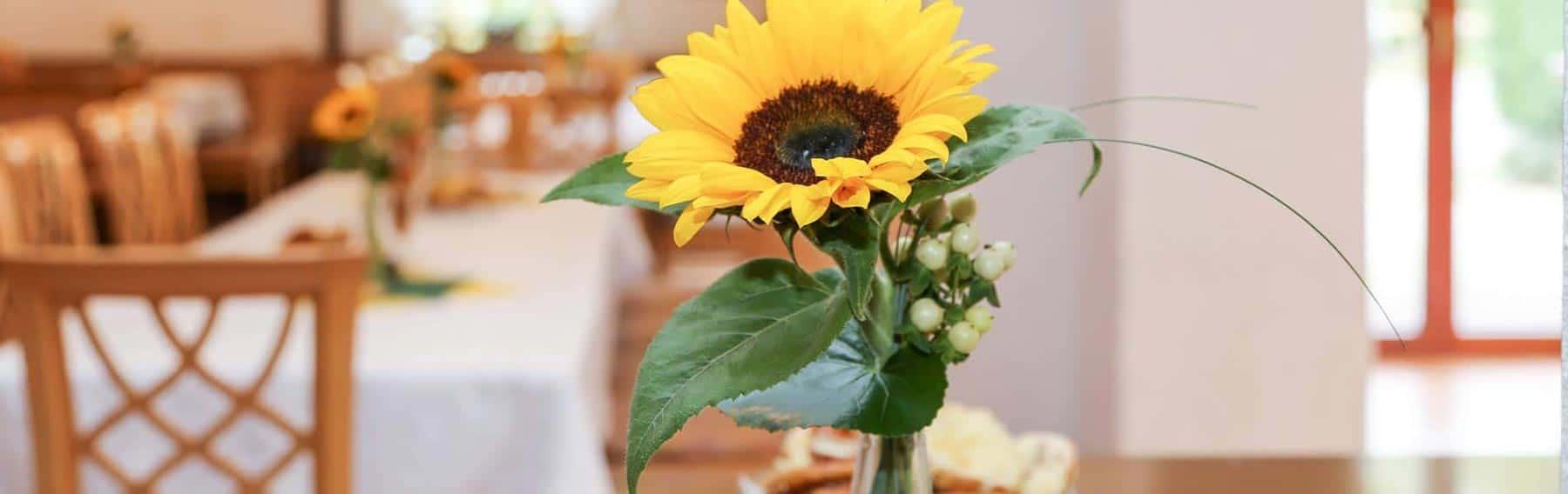 Blumentisch